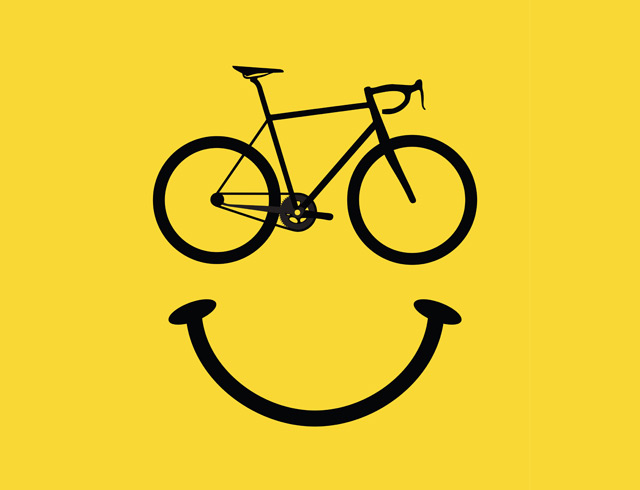 Bicycle Smiley Face