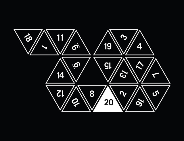 Unrolled D20 #2